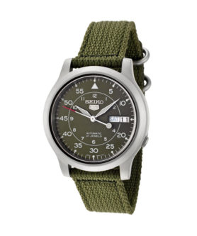 SEIKO 5 MILITARY NYLON 21 JEWELS