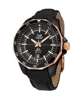 VOSTOK-EUROPE N1 ROCKET AUTOMATIC LINE BLACK GOLD