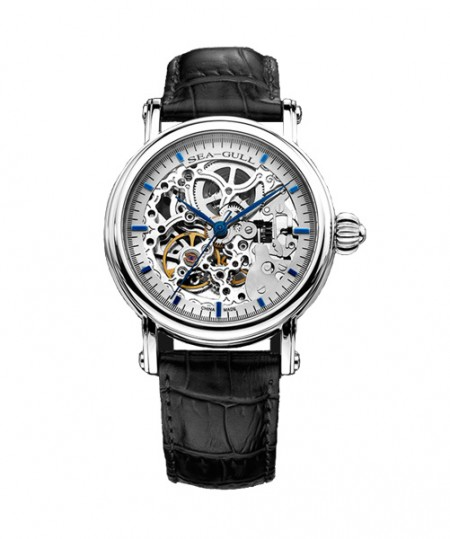 montre seagul skeleton automatic
