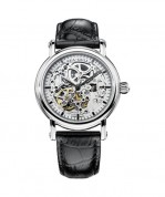 seagull skeleton black dials hands