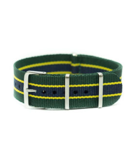 NATO NYLON GREEN YELLOW BLUE