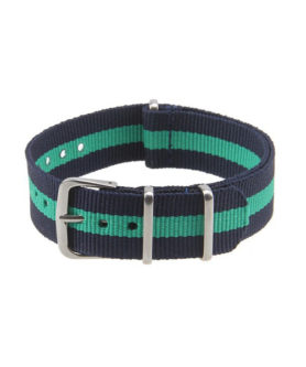 NATO NYLON BLUE GREEN BLUE