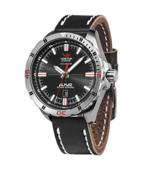 VOSTOK-EUROPE BLACK ALMAZ