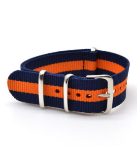 NATO NYLON BLUE ORANGE BLUE