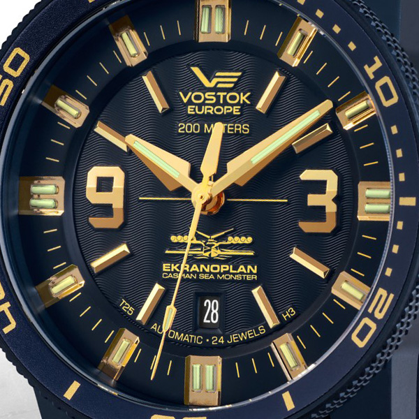 VOSTOK-EUROPE SEA MONSTER EKRANOPLAN NH35-546D511 cf5f15edd67