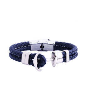 DUVERNET ANCHOR BRACELET BLUE