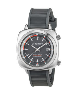 BRISTON CLUBMASTER DIVER BRUSHED STEEL