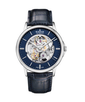 EDOX LES BÉMONTS SHADE OF TIME SKELETON