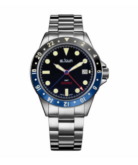 LE JOUR SEACOLT GMT BLACK & BLUE