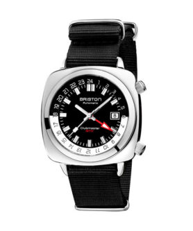 BRISTON CLUBMASTER GMT TRAVELER STEEL