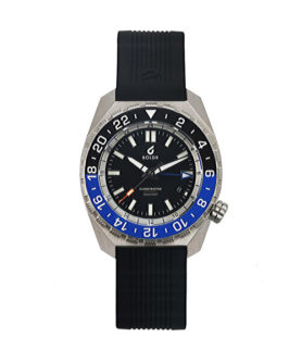 BOLDR GLOBETROTTER GMT BLUE-BLACK