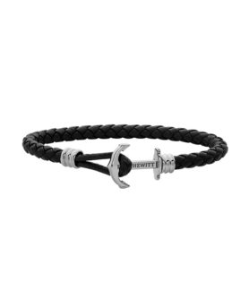 PAUL HEWITT BRACELET ANCHOR PHREP LITE LEATHER