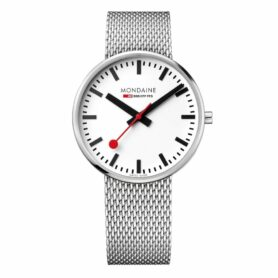 MONDAINE GIANT 42mm STAINLESS STEEL